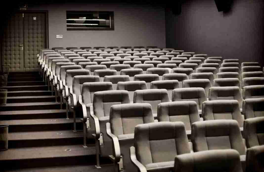 Sala cinematografica chiusa