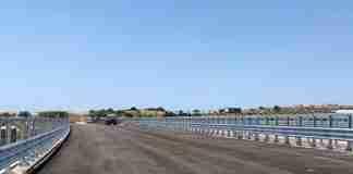 Il cantiere della Siracusa-Gela nel tratto in costruzione nei pressi di Rosolini