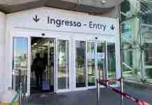 Ingresso lato est dell'aeroporto di Catania