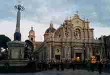 Piazza Duomo a Catania