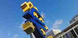 Un monumento all'Euro