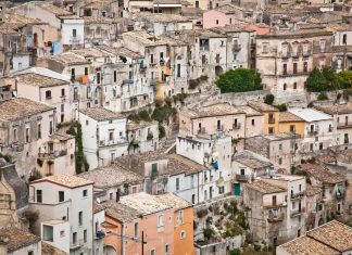 Case nel centro storico di Ragusa (Ibla)