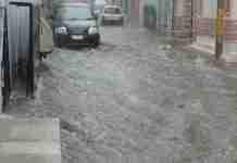 Pioggia o alluvione